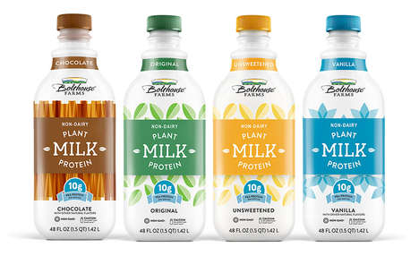 Pea Protein Milk Beverages - The Bolthouse Farms Plant Protein Milks are Free From Common Allergens