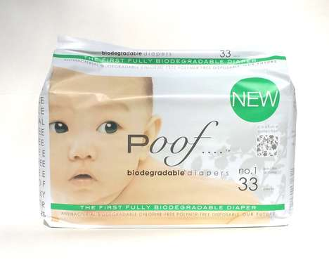 Fully Biodegradable Diapers