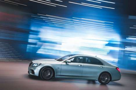 Eco-Friendly Luxury Sedans - The Mercedes S-Class Is Now Available With A Plug-In Hybrid Powertrain