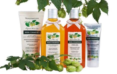 Beer-Based Cosmetic Collections - Manufaktura Offers Cosmetic Products Based in Czech Beer
