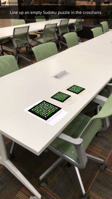 Augmented Sudoku Apps