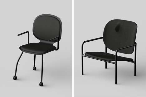 Discomfort-Causing Satirical Seats - The 'Uncomfortable Chairs' Draw Inspiration from Life Events