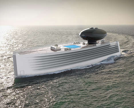 Electric Luxury Ocean Cruisers