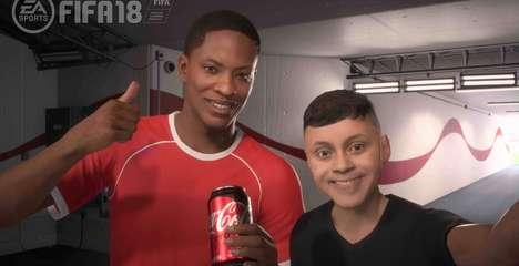 Virtual Soda Sponsorships