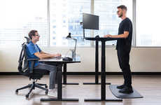 AI-Powered Standing Desks