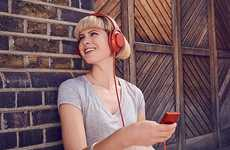 High-Resolution Audio MP3 Players - The Sony NW-A35 Walkman Offers Up to 45 Hours of Playback