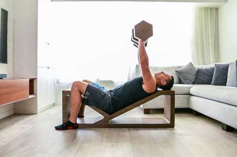Workout-Friendly Furniture - The Habit Furniture Does Double Duty in Your Home to Keep You Healthy