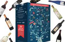 Vintner Advent Calendars - Aldi's Wine Advent Calendar Helps Drinkers Count the Days Until Christmas