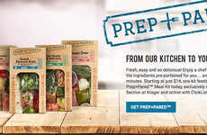 Pre-Measured Meal Kits - Ralphs' 'Prep+Pared' Prepared Meal Kits Simplify Preparation