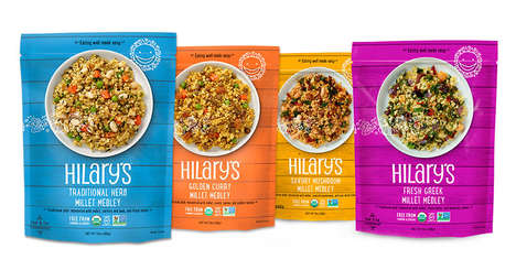 Microwavable Millet Meals - Hilary's Millet-Based Frozen Healthy Meals are Free from Gluten