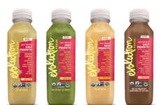 Bottled Probiotic Smoothies - Evolution Fresh Launched a New Line of Premium, Functional Beverages
