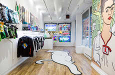 Cartoon-Inspired Urban Pop-Ups - RIPNDIP's New York Pop-Up Will Be Open for Two Months