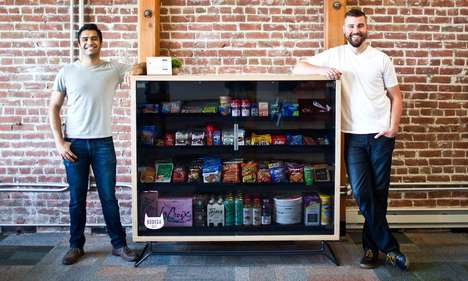 Automated Office Pantries - Bodega Gives Workplaces Convenient Pantry Box Stores Stocked With Basics