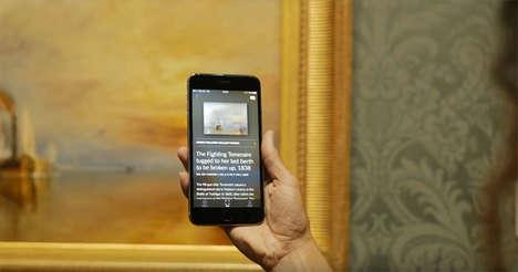 Artwork-Identifying Apps