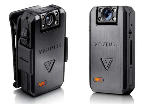 Rugged Wearable HD Cameras - The 'VENTURE' Wearable Livestream Camera Captures Adventures and More