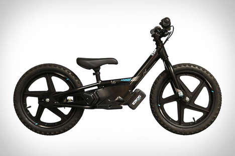 Powered Toddler Balance Bikes - The Stacyc Electric Balance Bicycles Help Kids Get Their Bearings