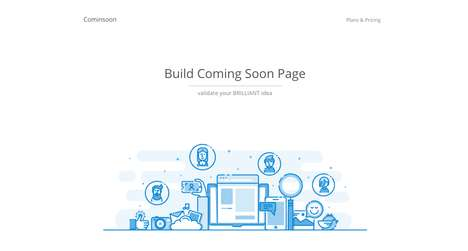 Maker Website Services - SaaS Startup Cominsoon Helps Makers Build Their Website's Coming Soon Page