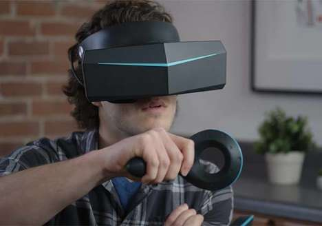 Peripheral Vision VR Headsets - The 'Pimax' 8K VR Headset Eliminates Motion Sickness