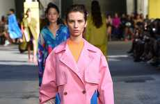 Color-Saturated Runway Shows - The New MSGM Collection Was Presented During Milan Fashion Week