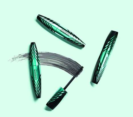 Peacock-Inspired Mascaras - CoverGirl's New 'Peacock Flare Mascara' Volumizes & Nourishes the Lashes