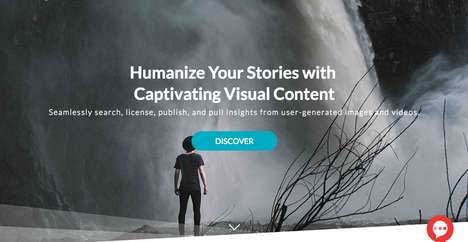 Visual Content-Discovering Platforms