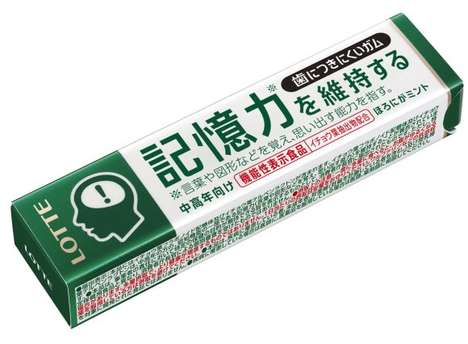 Memory Aid Chewing Gums