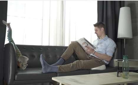Core-Strengthening Posture Pillows