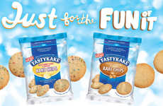 Crunchy Cake-Inspired Cookies - The Tastykake Kake Chips Come in Two Distinct Flavor Options