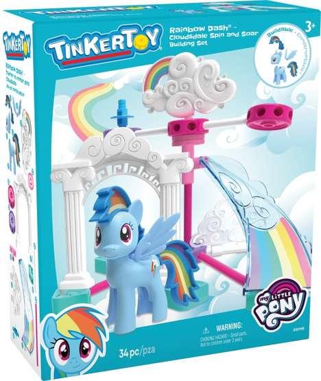 Pony-Themed Construction Toys