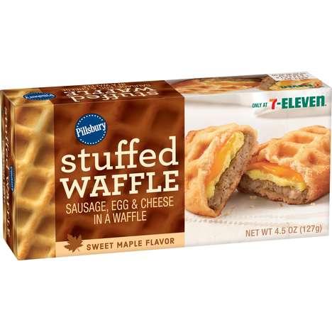 Stuffed Waffle Sandwiches