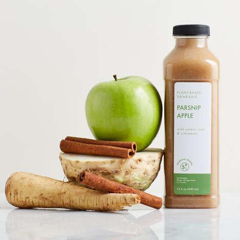 Parsnip-Apple Beverages