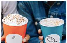 Minimal Autumnal Cup Designs - The Newly Released Starbucks Fall Cups Feature Simpler Designs