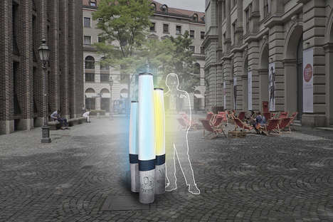 Urban Air Quality Monitors - The 'Pure City' Monitors Encourage Better Environmental Habits