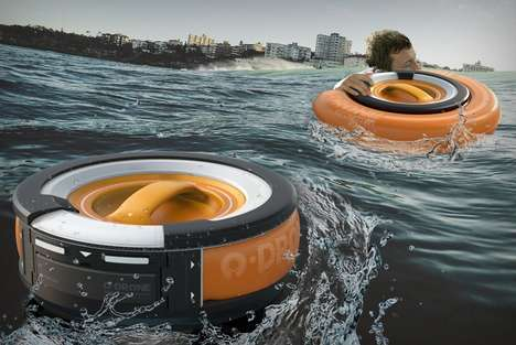 Reactionary Floatation Devices