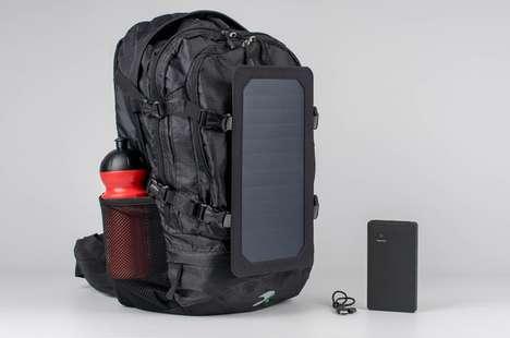 Eco Energy Charger Backpacks