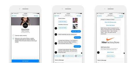 Mall Concierge Chatbots - Simon Launched a 'Digital Concierge' to Inform Mall Shoppers