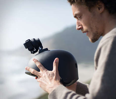 Stabilizing Action Camera Mounts - The Quark Compact GoPro Stabilizers Ensure Optimal Recording
