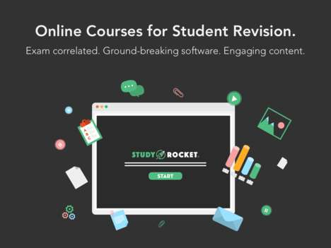 Revision-Focused Student Software - The Startup Offers Productivity-Enhancing Online Course Software