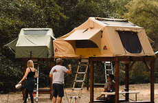 Elevated Rooftop Tent Frames