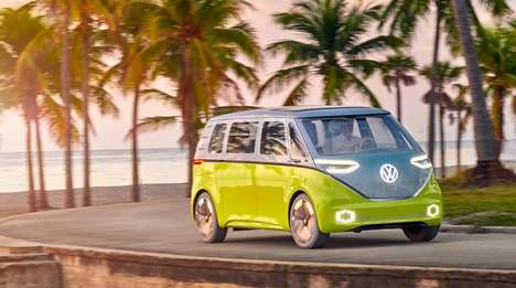 Electric Microbus Designs - The Environmentally Made-Over VW Minibus is Hitting the Road in 2022