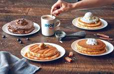 Coffee-Infused Pancakes - The IHOP Latte Lover's Pancake Menu is Inspired by Java Beverages