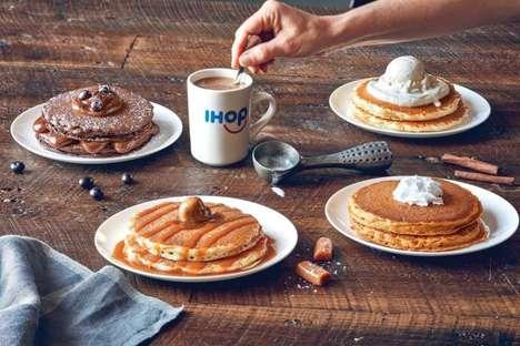 Coffee-Infused Pancakes