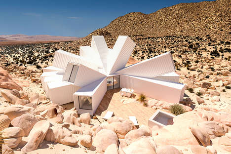 Futuristic Container Homes - This Joshua Tree Residence is Made Out of Multiple Shipping Containers