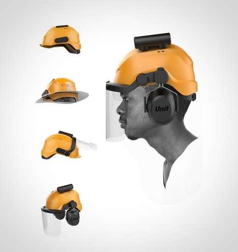 Interchangeable Component Helmets