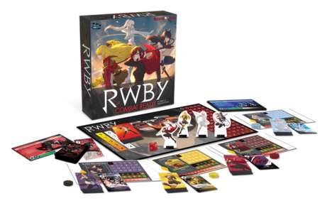 Active Engagement Board Games - The RWBY: Combat Ready Game Has All Players Playing at Once