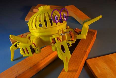 Programmable Combat Robot Toys - The Vorpal Combat Hexapod is a Low-Cost Robot to Learn STEM