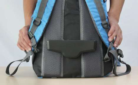 Discreet Traveler Backpack Fans - The 'Ventila' Ventilation Fan Keeps You Cool on Long Hikes