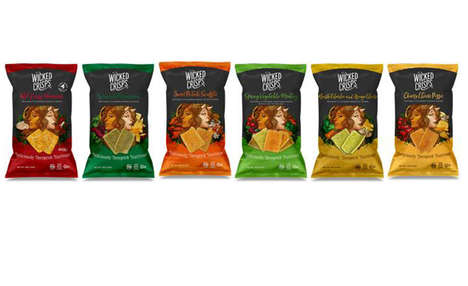 Veggie-Infused Artisan Chips
