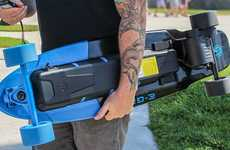 Futuristic Electric Skateboards