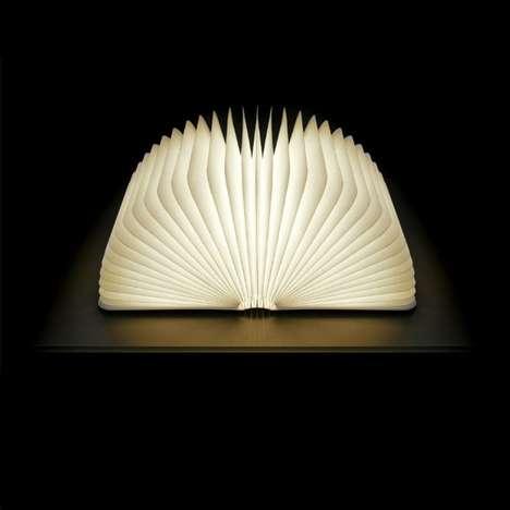 Foldable Book Lights